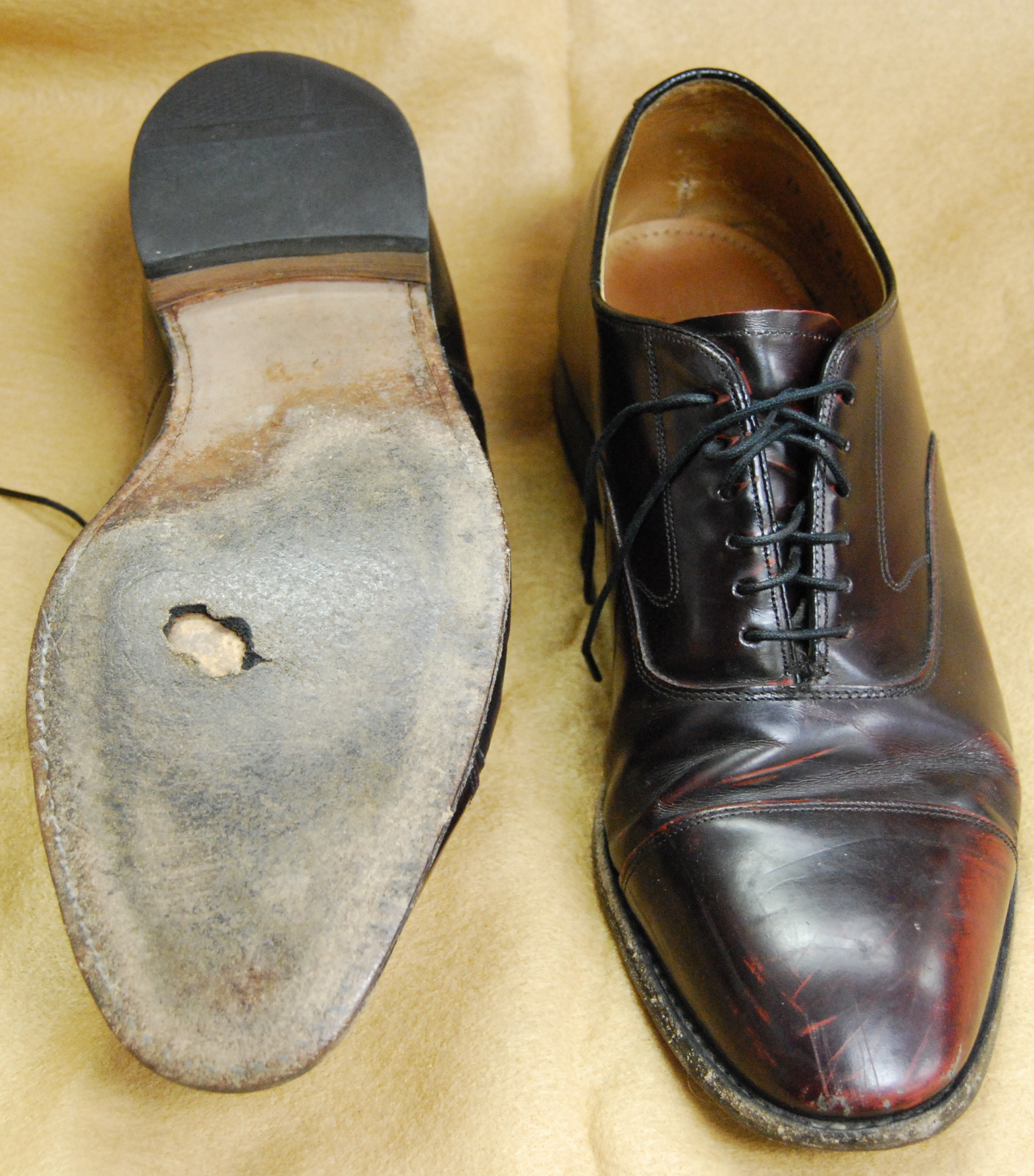 Resole Ecco Dress Shoes