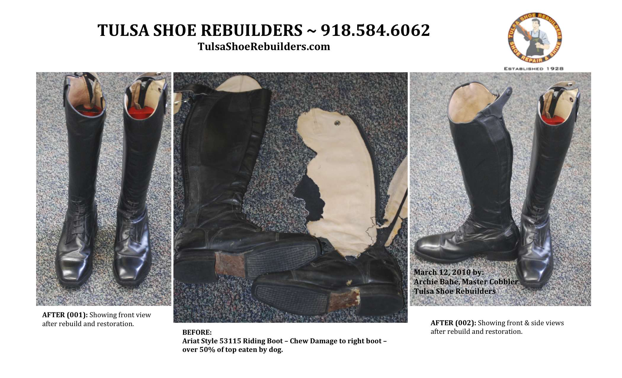 Cowboy Boot Resole Repair and Restoration Specialists | Your ...